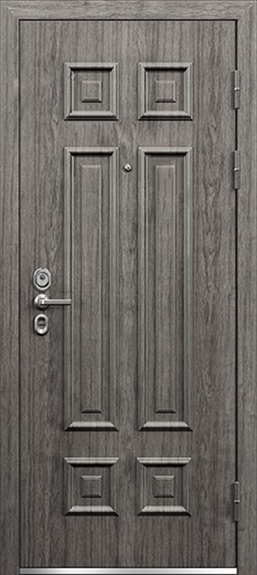 Двери трёхконтурные